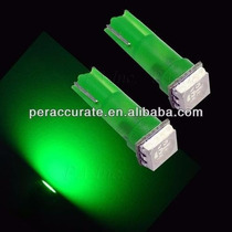 Lampada Led Pinguinho T5 Neon Para Painel Carro Moto Verde