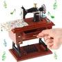 Caixinha De Música Máquina De Costura