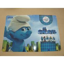 = Smurfs = Desastrado Suplá Porta Pratos Mc Donalds Visa