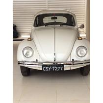 Volkswagem Fusca 1.300 , Cor: Branca , 5l/ 046cv , Gasolina.