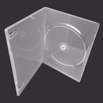 Box P/ Dvd C/ 100 Capinhas Capa Dvd Transparente Resistente