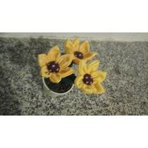 Centro De Mesa Vasinho De Flor