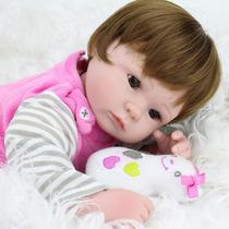 Bebê Reborn Boneca Silicone Pronta Entrega - Frete Grátis