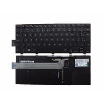 Teclado Notebook Dell Inspiron I14 3442 Iluminado Com Ç