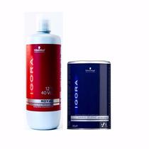 Descolorante Igora Blond Plus Extra Power 450g +oxidante 40v