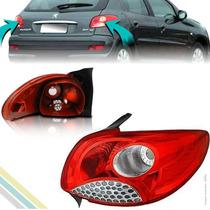 Lanterna Traseira - Peugeot 207 2008 09 10 11 12 2013