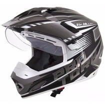 Capacete Pro Tork Th-1 Adventure Motocross Trilha Viseira