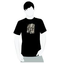 Camisa De Qualidade- Algodão- Art Chicana - Marilyn Bandida
