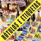 Rótulos, Etiquetas Auto-adesivas Personalizadas E Impressas