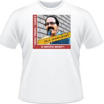 Camiseta Olá Marilene A Noite Tainha Vinho Meme Camisa