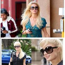 Óculos De Sol Redondo Feminino Grande Proteção Uva E Uvb