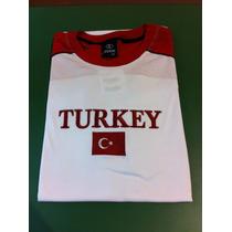 Camiseta Da Turquia