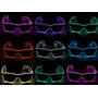 Óculos Neon, Led, Festa, Balada, Rave, Casamento