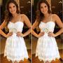 Vestido De Renda Europeu Importado Pronta Entrega No Brasil Original