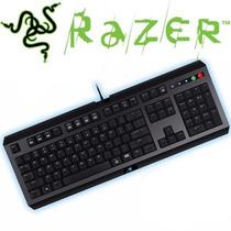 Teclado Gamer Teclas Programáveis Abnt2 Design Cyclosa Razer