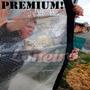 Lona Transparente 7,5x4 De Pvc Vinil Emborrachada Anti-chama