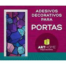 Adesivos Decorativos Para Portas Em Vinil - Diversas Estampa