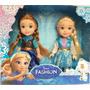 Kit 2 Bonecas Frozen Elsa E Anna Crianças - Pronta Entrega!