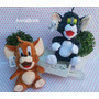 Pelucia Tom E Jerry 25 Cm