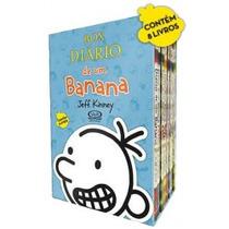 Box Diário De Um Banana 8 Volumes Jeff Kinney Frete 13 Reais