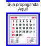 100 Folhinhas Comercial Calendário Pequena Personalizado