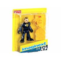 Brinquedo Boneco Imaginext Policial Robô Mattel