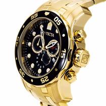 Relógio Invicta 0072 Pro Diver E Completo