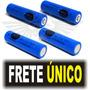 Bateria Recarregável 18650 3.7v Li-ion Lanterna Tatica Led!!