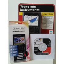 Kit Especial Calculadora Gráfica Texas Ti-nspire Cx Cas