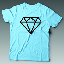 Camiseta Diamante Diamond Personalizada