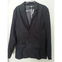Blazer Jeans Listras Calvin Klein: De 439,00 Por 249,00