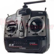 Radio Turnigy 6x Modo 2 - 2.4ghz 6 Canais Fhss Com Receptor