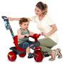 Velobon De Passeio Bebê Crianças C/ Pedal E Cinto Segurança
