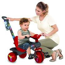 Triciclo De Passeio Bebê Crianças C/ Pedal E Cinto Segurança