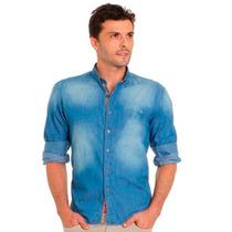 Camisa Social Aramis Jeans Basica + Frete Grátis
