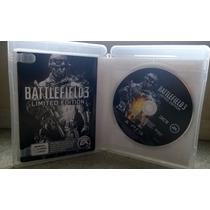 Battlefield 3 - Limited Edition Jogo Para Ps3