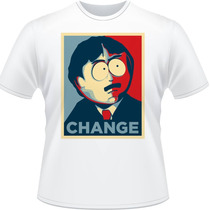 Camiseta South Park Change Randy Marsh Camisa Stan Kyle