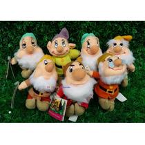 Sete Anões Chaveiro Da Branca De Neve - Original Mattel 2004