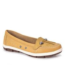 Sapato Dockside Feminino Kolosh - Amarelo