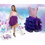 Fantasia Violetta Disney Em Promoção - Todos Os Tamanhos