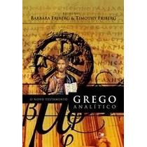 O Novo Testamento Grego Analítico Ed Vida Nova Frete Grátis