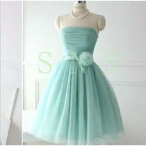 Vestido De Festa Curto/15 Anos/debutante/casamento