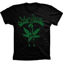 Camisa / Camiseta Hip Hop / Reggae Mary Jane - Puff Pass