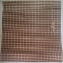 Persiana Bambu Cortina Madeira Bandô 1,20 X 2,20 Cm Zebrano