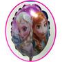 Balão Metalizado Frozen 21x21 Cm Enfeite De Mesa Com 20 Unid