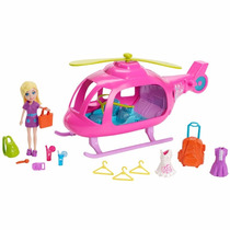 Helicóptero Da Polly Pocket Pronta Entrega