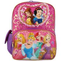 Mochila Princesas Disney - Rosa - 654528
