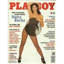 Revista Playboy N° 244 Maira Rocha