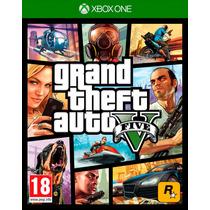 Gta 5 Grand Theft Auto V Xbox One Original Midia Fisica C/nf