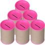100 Cofres Cofrinhos Para Personalizar - Tampa Pink